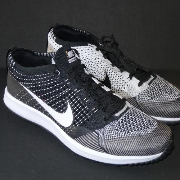 7a4ed288a8 Nike Shoes   Flyknit Racer G Oreo Golf Shoe Sz 9 11   Poshmark